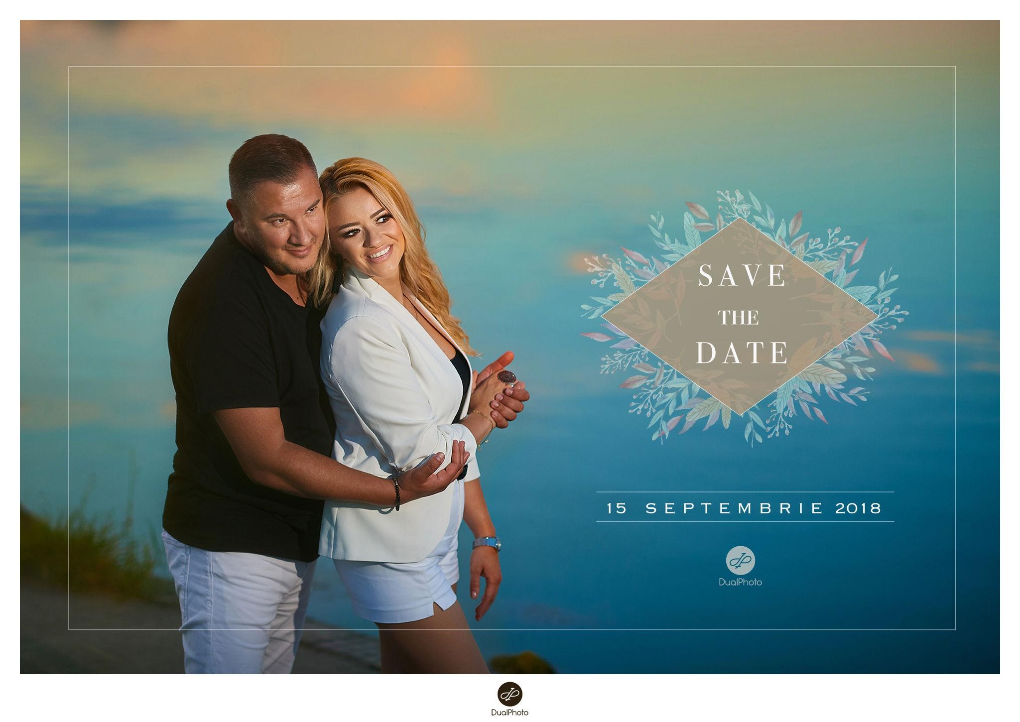 Save the Date Geanina și Andi Fotograf Nunta Constanta